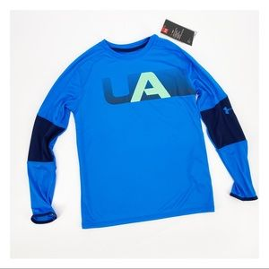 Under Armour Loose Fit Heat Gear Long Sleeve Med